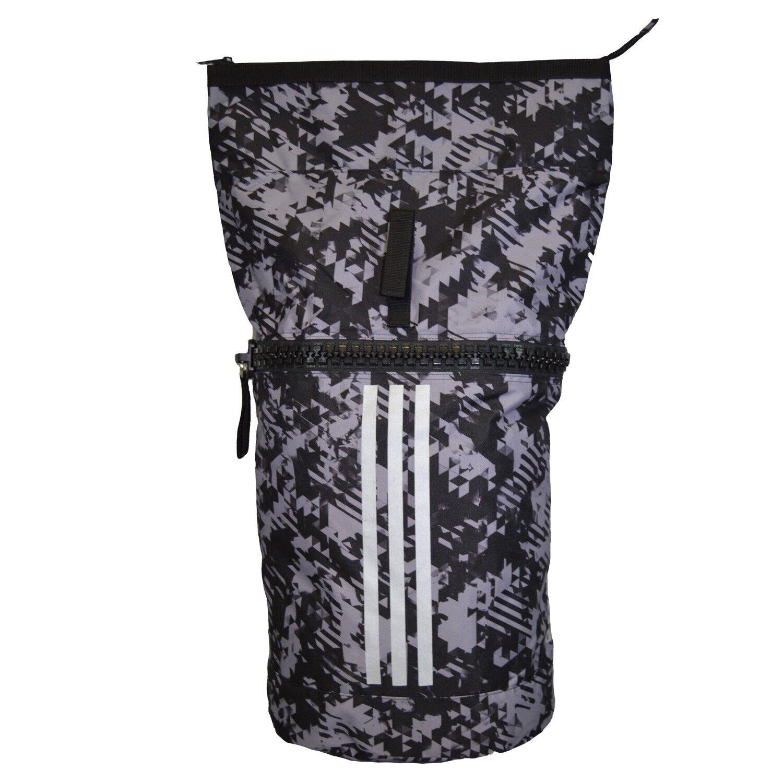 ADIDAS Military Seesack schwarz camouflage silber , 72x52x40cm, Training, Sport,
