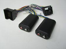 VW Quadlock Remote High Low Adapter Chinch Originalradio Ausgang Verstärker