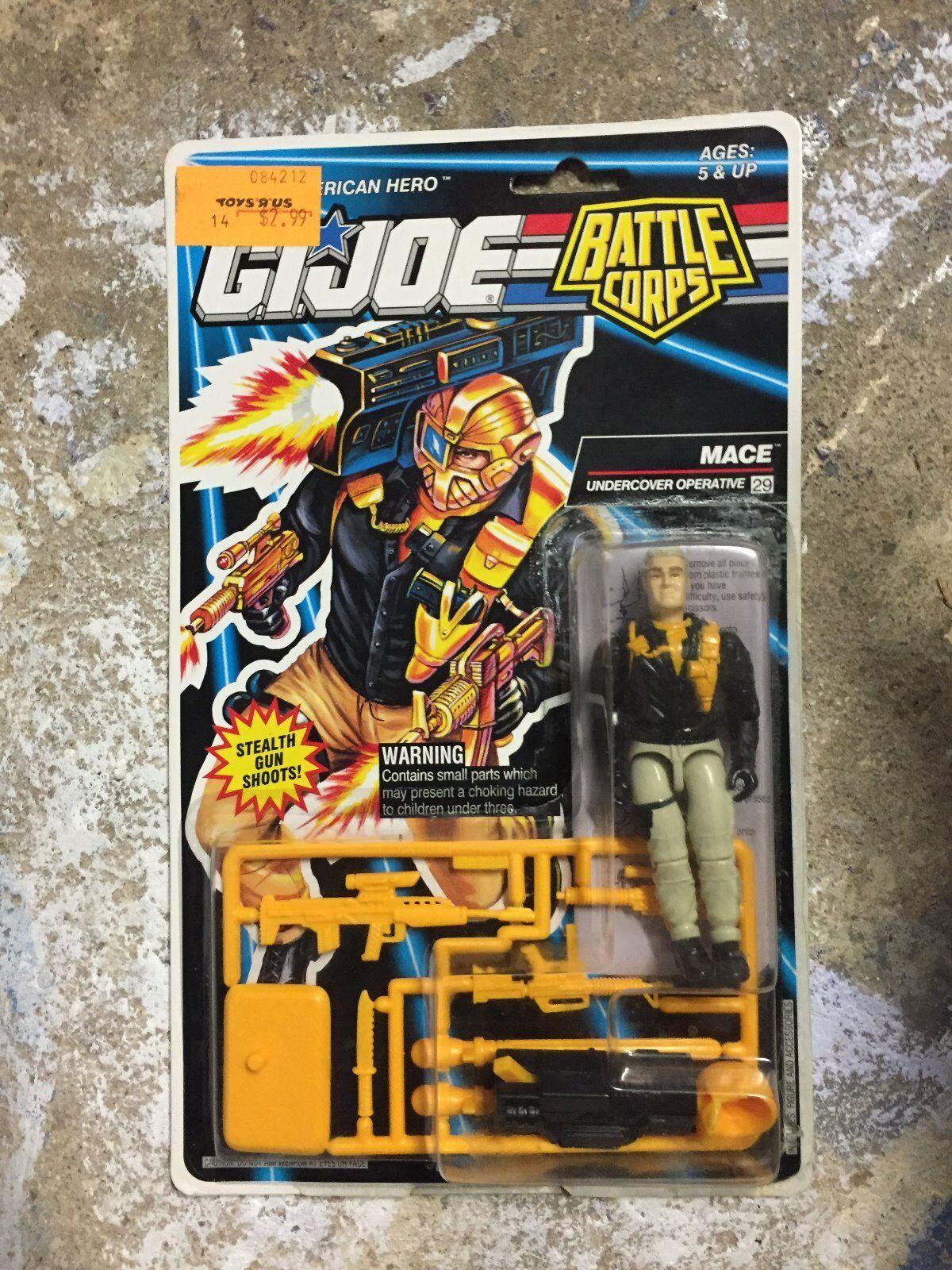 GI Joe Battle Corps Mace Partly Carded