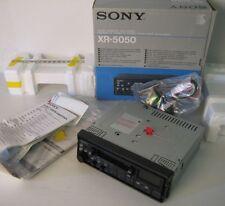 sony xr-5050 car radio , autoradio, nuova con scatola, new factory seled!
