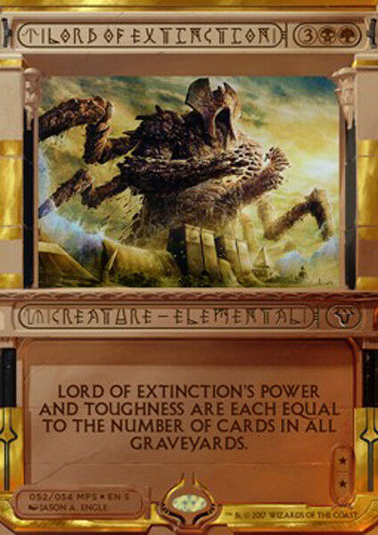 MTG LORD OF EXTINCTION FOIL EXC - SIGNORE DELL'ESTINZIONE DELL'ESTINZIONE DELL'ESTINZIONE - AI - MAGIC d385b8