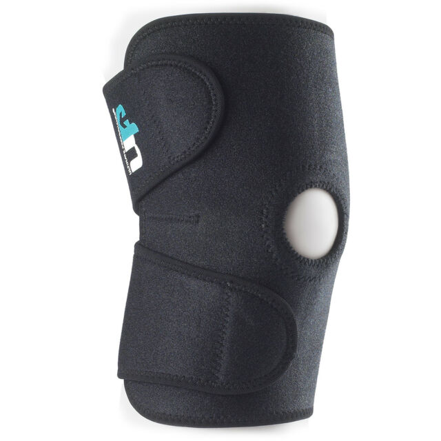 ULTIMATE PERFORMANCE ELASTIC KNEE SUPPORT EXERCISE INJURY SAFETY NEOPRENE GUARD