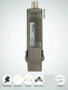 Mikrotik-New-RBMetal5SHPn-High-Power-5GHz-802-11n-Radio-RouterOS-L4-PoE-PSU