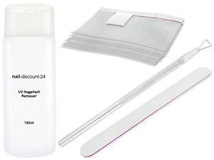 Shellac-ACETON-Entferner-Remover-SPARSET-Polish-Hybrid-SOAKOFF-GEL-UV-Nagellack