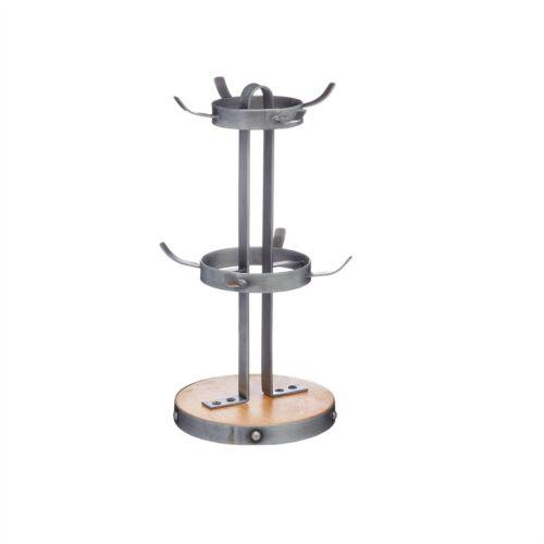 Holz Metall Kitchen Craft Industrial Kitchen 8 Tassen Becher Baum Stand