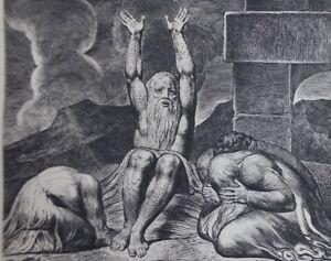 William-Blake-Penance-Engraving-N-amp-b-Book-Job-Bible-1902
