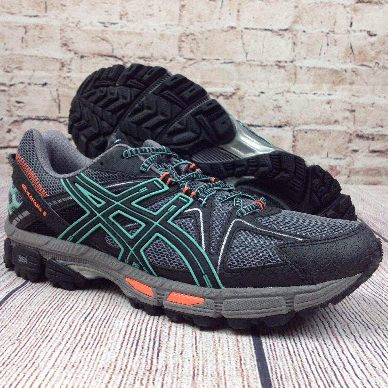 solo para ti Asics Gel-Kahana 8 Correr Zapatilla de deporte deporte deporte para mujer Negro Hielo verde Zapatos  70% de descuento