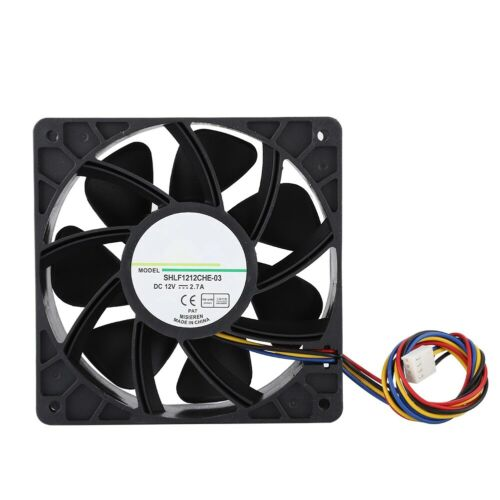 SHLF1212CHE-03 12V 2.7A 12CM 4-Pin Cooling Fan PWM 6000RPM For QFR1212GHE-9D89