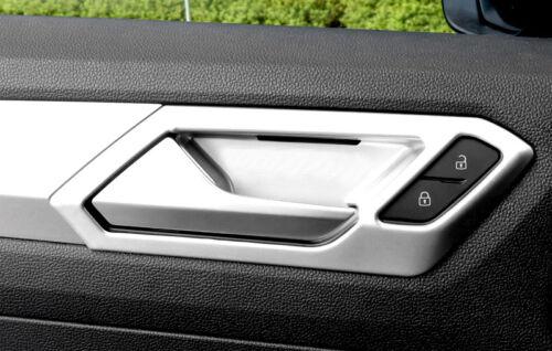 Linkslenker Matte Innentürgriff-Schale Abdeckleiste 4 für VW T-Roc 2017 2018