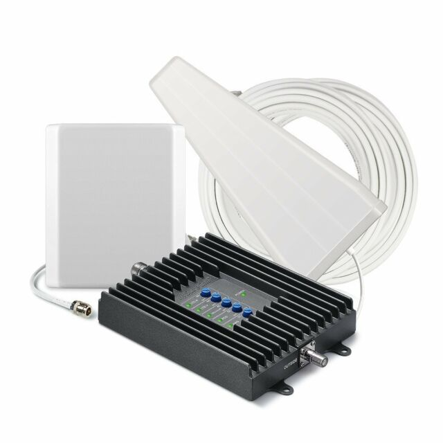SureCall Fusion4Home 3G/4G LTE Cell Phone Signal Booster Kit Yagi/Panel Antennas