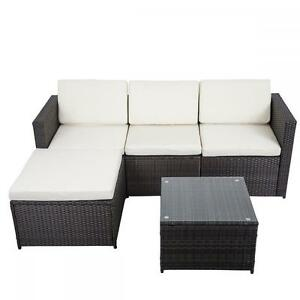 Image Is Loading 5 PCS Outdoor Patio Sofa Set Sectional Furniture