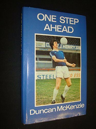 One Step Ahead by McKenzie, Duncan Hardback Book The Cheap Fast Free Post