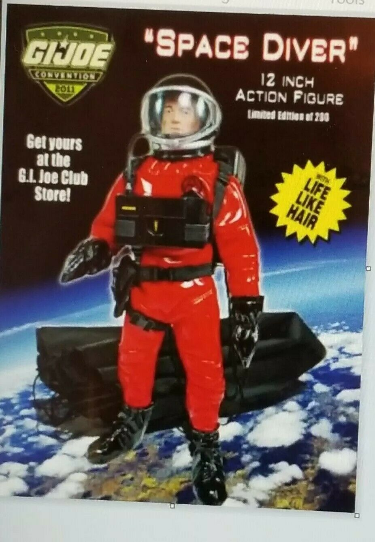 GI JOE 2011 Convention Exclusive azione cifra cifra cifra spazio DIVER Limited 200 - Loose abf7b0