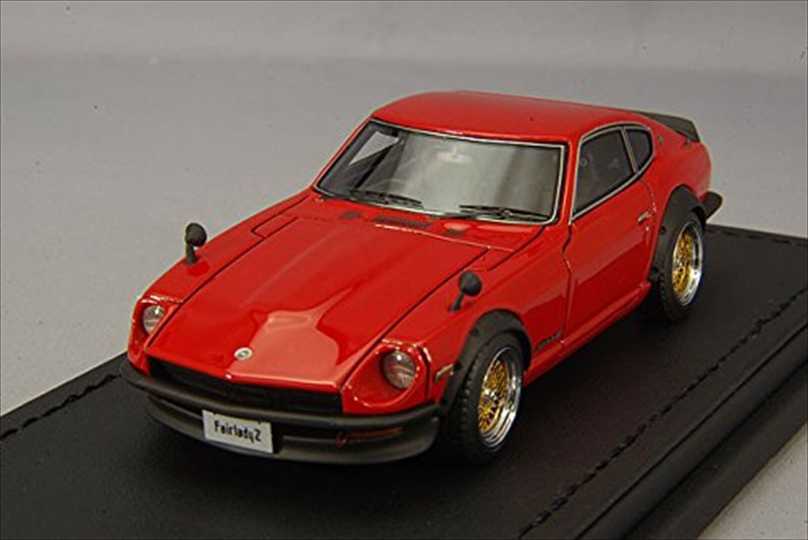 Zündung modell 1   43 nissan fairlady zs30 rote harz modell ig0779