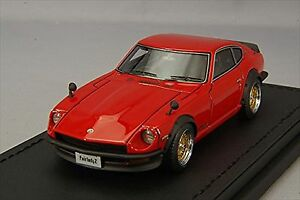 Ignition Model 1/43 NISSAN Fairlady ZS30 Rouge Résine Modèle IG0779