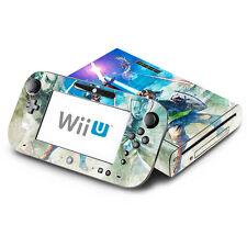 Skin Decal Cover for Nintendo Wii U Console & GamePad - Zelda Skyward Sword