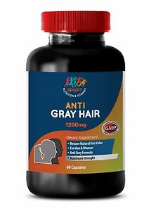 Details about Produce Hydrogen Peroxide Caps - Anti-Gray Hair 1200mg - Beta  Sitosterol 100 1B
