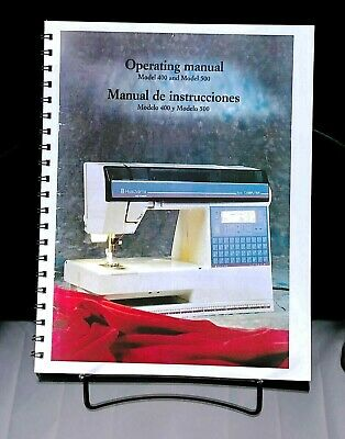 Husqvarna Viking Model 400 500 Computer Sewing Machine User Guide COLOR Manual EBay