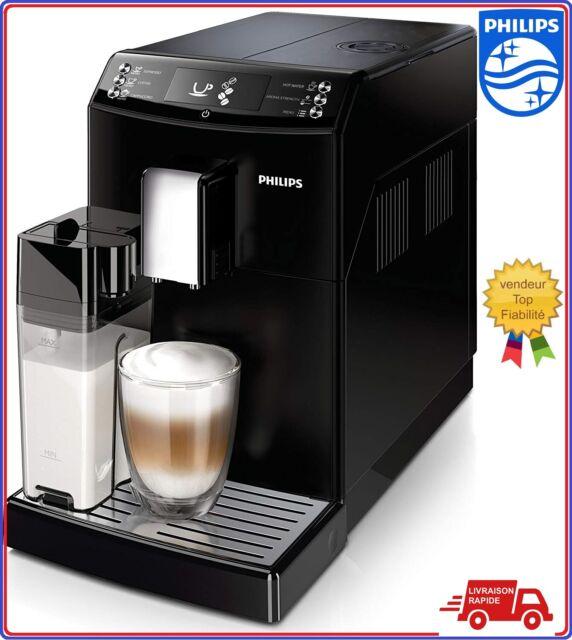 PHILIPS Machine café Espresso noir broyeur Automatique réservoir lait cappuccino