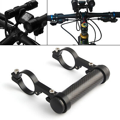 Bicycle Handlebar Extension Mount Lamp Handle Bar Extender Bracket Holder