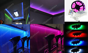 1m rgb led strip light colour changing led strip under cabinet image is loading 1m rgb led strip light colour changing led aloadofball Image collections