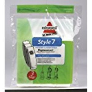 Bissell-Lift-Off-Vacuum-Bag-Style-7-Fits-Bissell-Bagged-3-Pack