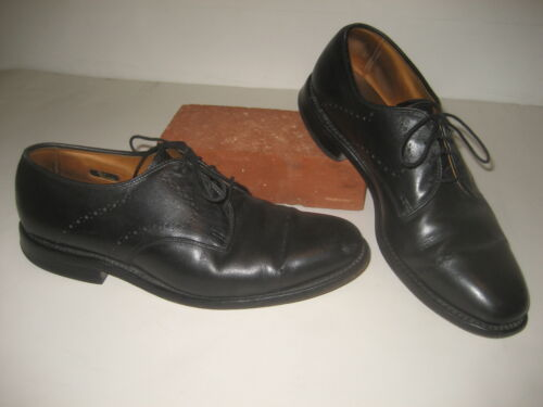 Allen Edmonds Troy Shoes Black Leather Oxfords Men