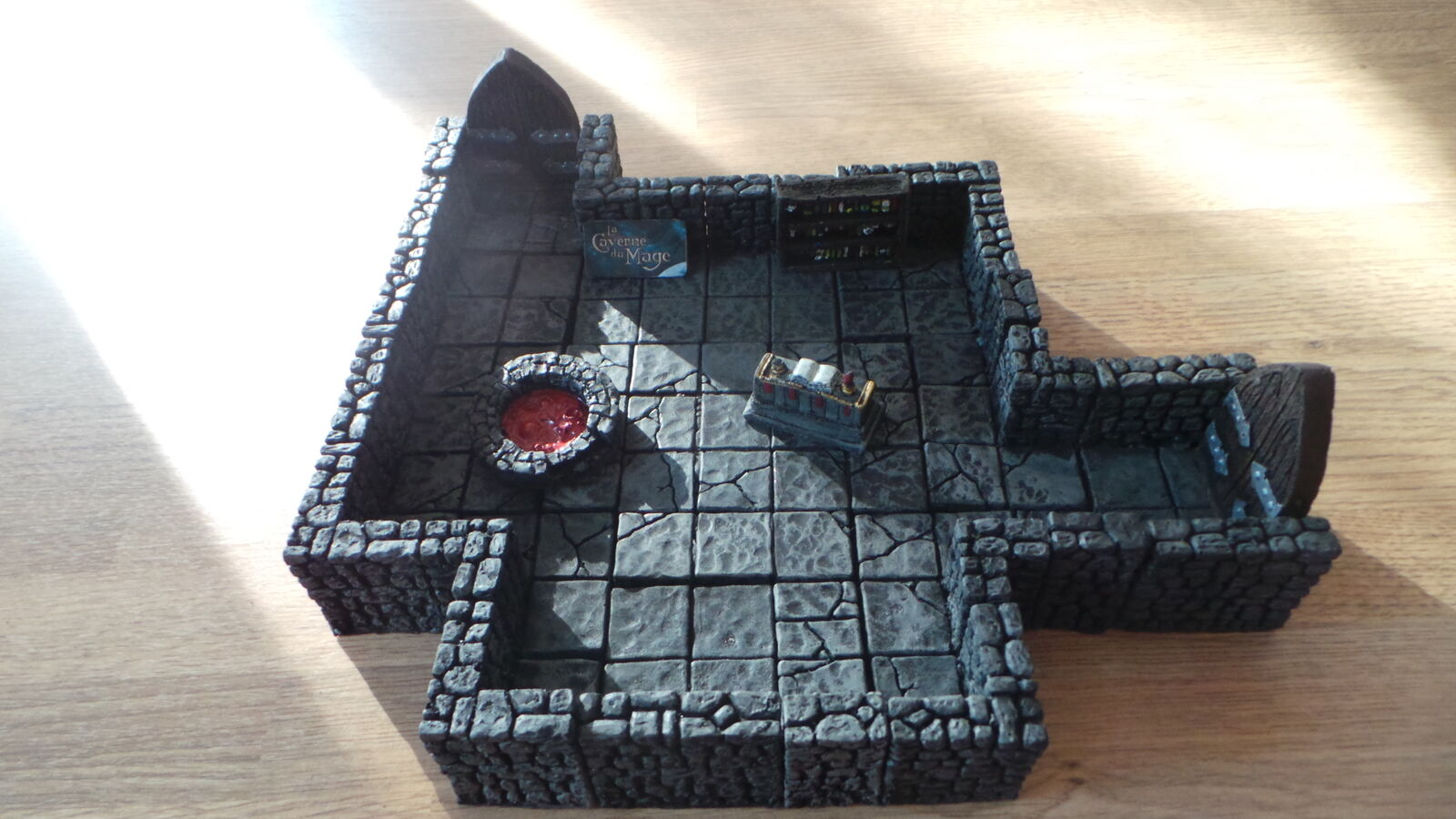 D & D Warhammer Scenery Labor des Magier des Zauberers Scrying Chamber (25 28mm)