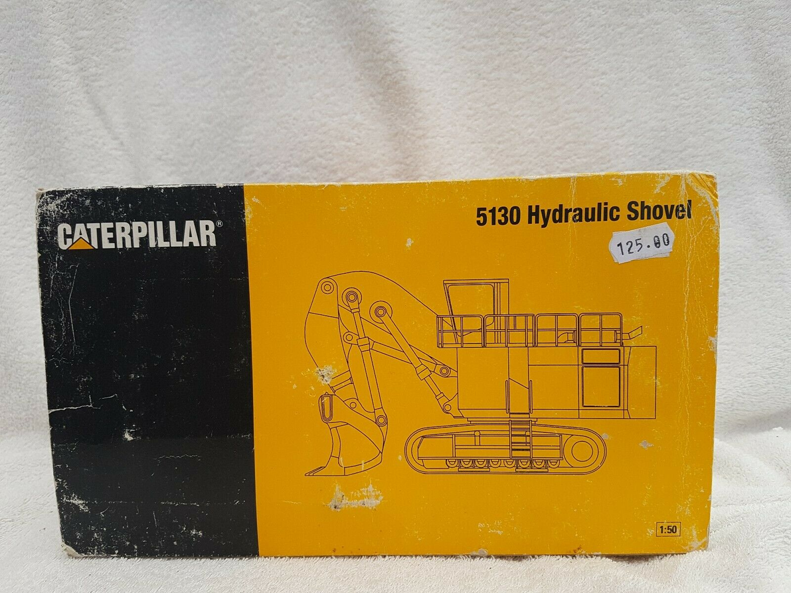 NZG No 391 1 50 Scale 5130 CAT Hydraulic Shovel