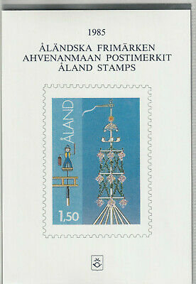 Aland 1985 Jahreszusammenstellung Briefmarken Europa