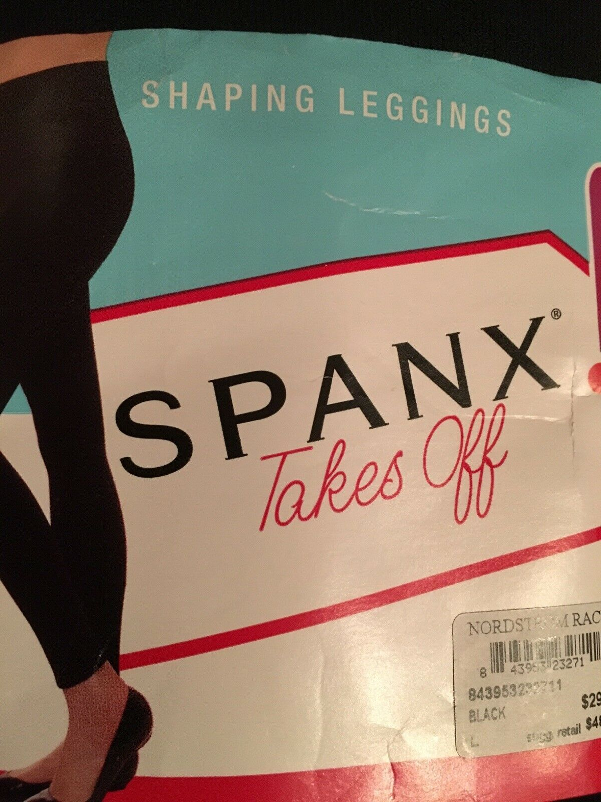 00da82d32b0 Spanx Takes off Black Shaping Leggings Sz XL 2031 for sale online