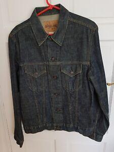 Gap-Blue-Jeans-Men-039-s-Denim-Blue-Jeans-Jacket-UK-Size-Medium