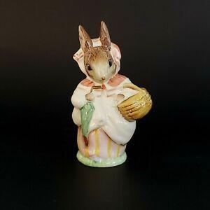 Vintage Reproduction Beswick Mrs Rabbit B Potter F Warne Figurine EUC 1989