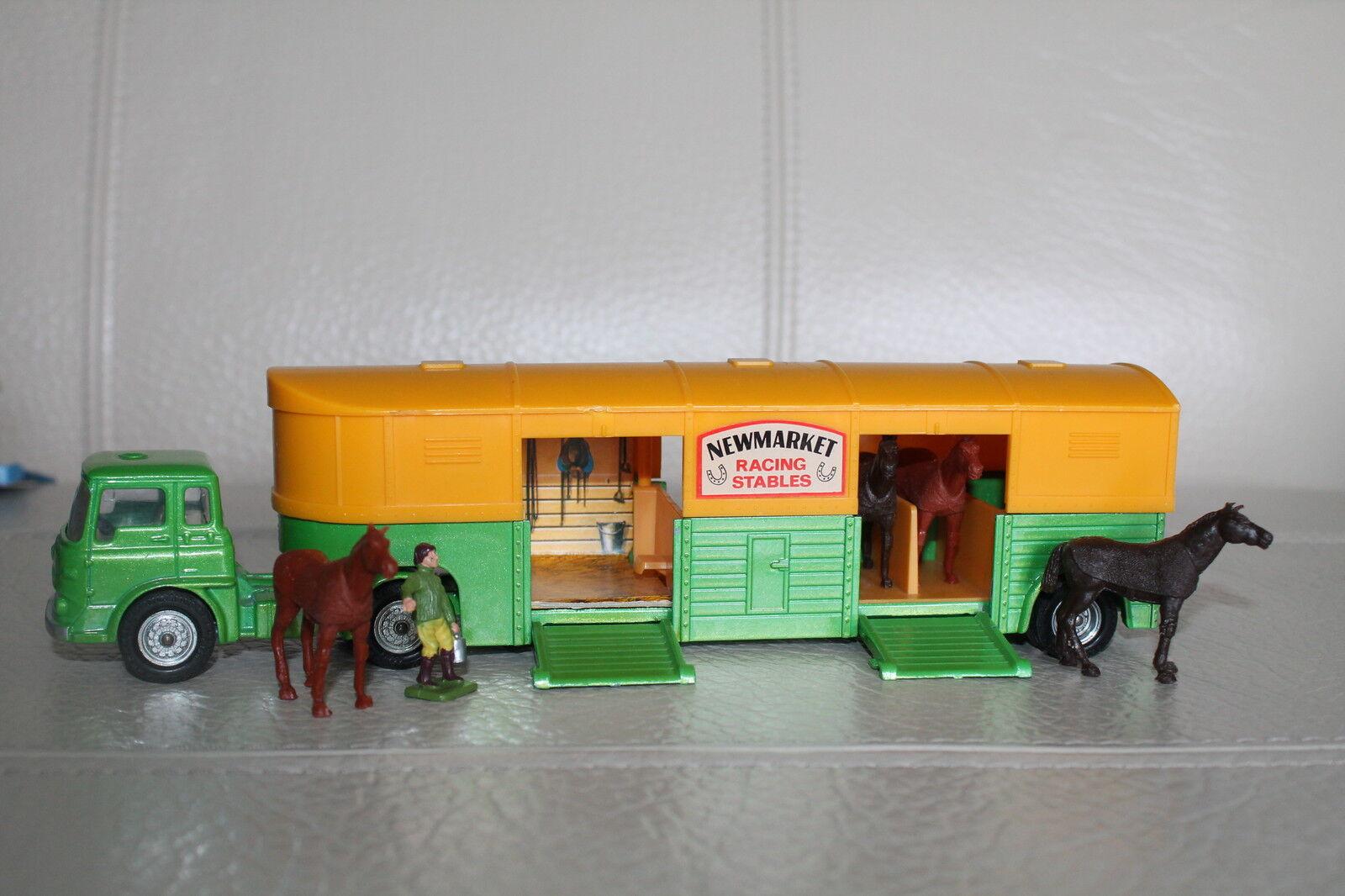 CORGI  toys  Bedford Horse transporteur  nouveaumarket stables  top  vente discount en ligne