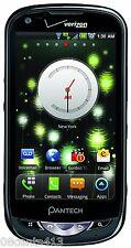Pantech Breakout - Black (Verizon) GSM 5.0MP 4G Smartphone w/ AC Power Supply