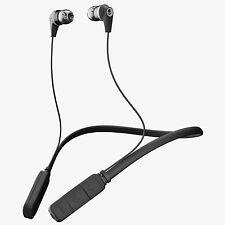 NEW SKULLCANDY INK'D Bluetooth Wireless EARBUDS   BLACK GRAY   S2IKW-J509
