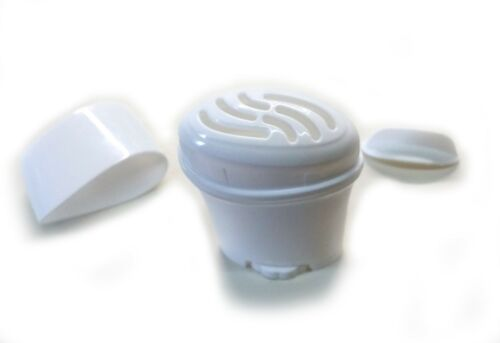 Empty Gel Deodorant Containers Top-slots Top-Fill BPA Free Plastic Twist-up