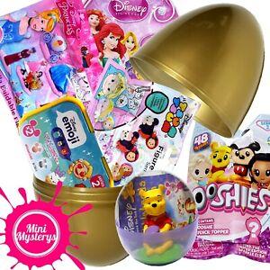 DISNEY-SURPRISE-TOYS-Bundle-Emoji-EGG-Tsum-Tsum-Princess-Ooshies-ciego-Bolsas