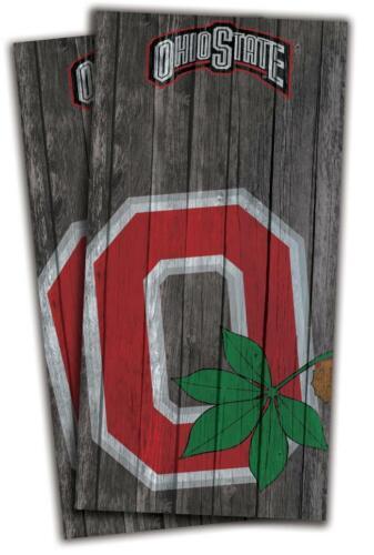 Ohio State Buckeyes Cornhole Bag Toss Wrap Set