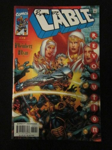 Cable Vol 1 79 Signed by Michael Ryan NMMT Condition Marvel