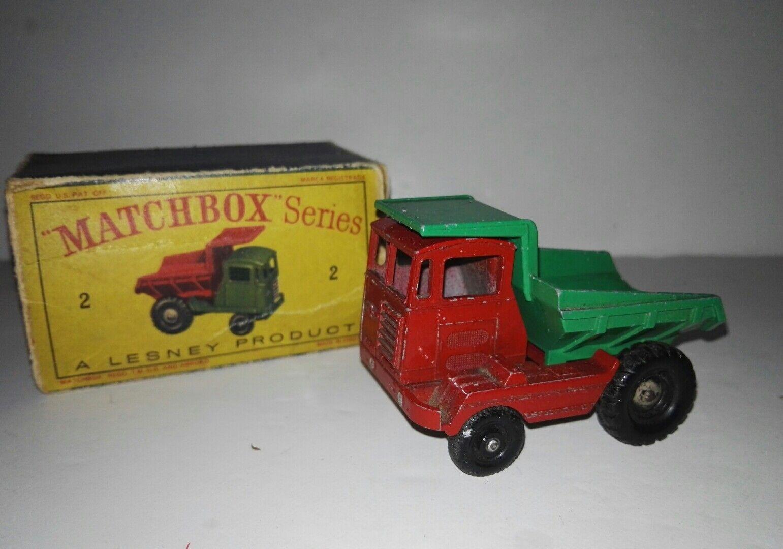 Matchbox muir hill laing (1962) no 2 C 1-75 by lesney rare
