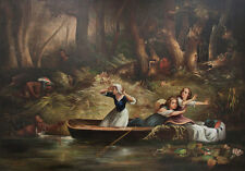 Capture of the Calloway Girls and Jemima Boone Karl Bodmer Indianer B A3 02743