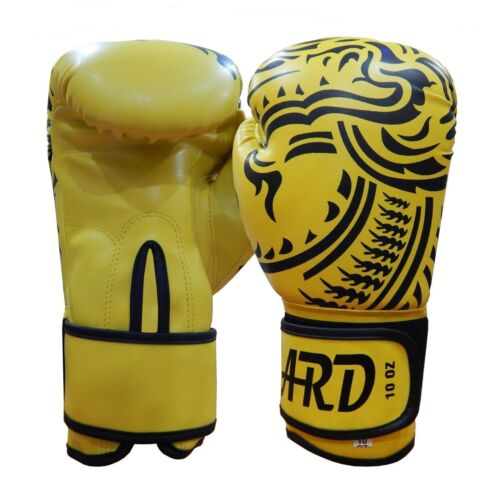 2Fit® Art Leather Boxing Gloves Fight Punching Bag MMA Muay Thai Kickboxing YDD