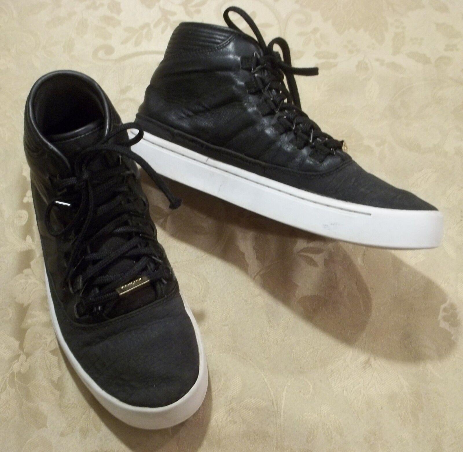 Hombre nike air Jordan ~ Negro Mid Top Sneakers Jumpman ~ tamaño 7,5 ~ Jumpman Sneakers zapatos baloncesto comoda y bonita 8a7436
