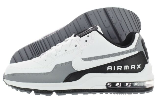 Nike Air Max Ltd 3 Mens Size 10 Shoes White Black Gray SNEAKERS 687977 119