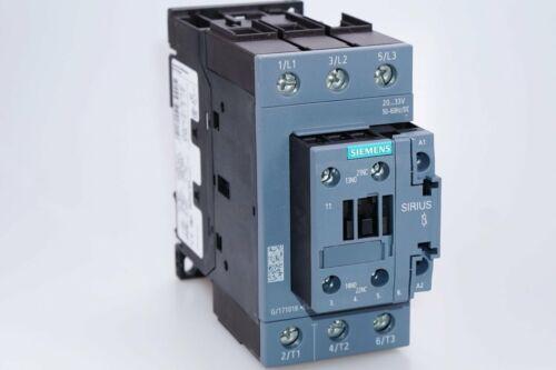Siemens Sirius 3rt2036-1nb30 leistungsschütz ac-3 50 A 22 kW//400 V