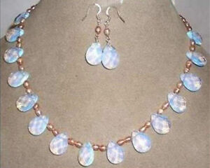 Real-natural-Pink-pearl-amp-opal-necklace-amp-earring-jewelry-set-18-034