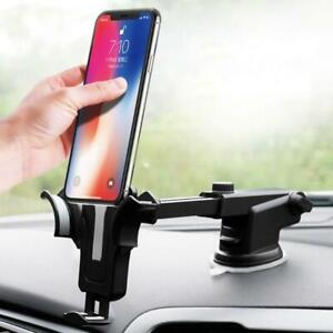 4-034-to-7-034-Phone-Car-Suction-Cup-Gravity-Phone-Holder-Windshield-Dashboard-Mount-w