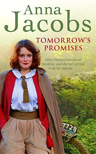 1 of 1 - ANNA JACOBS __ TOMORROW'S PROMISES __ BRAND NEW __ FREEPOST UK