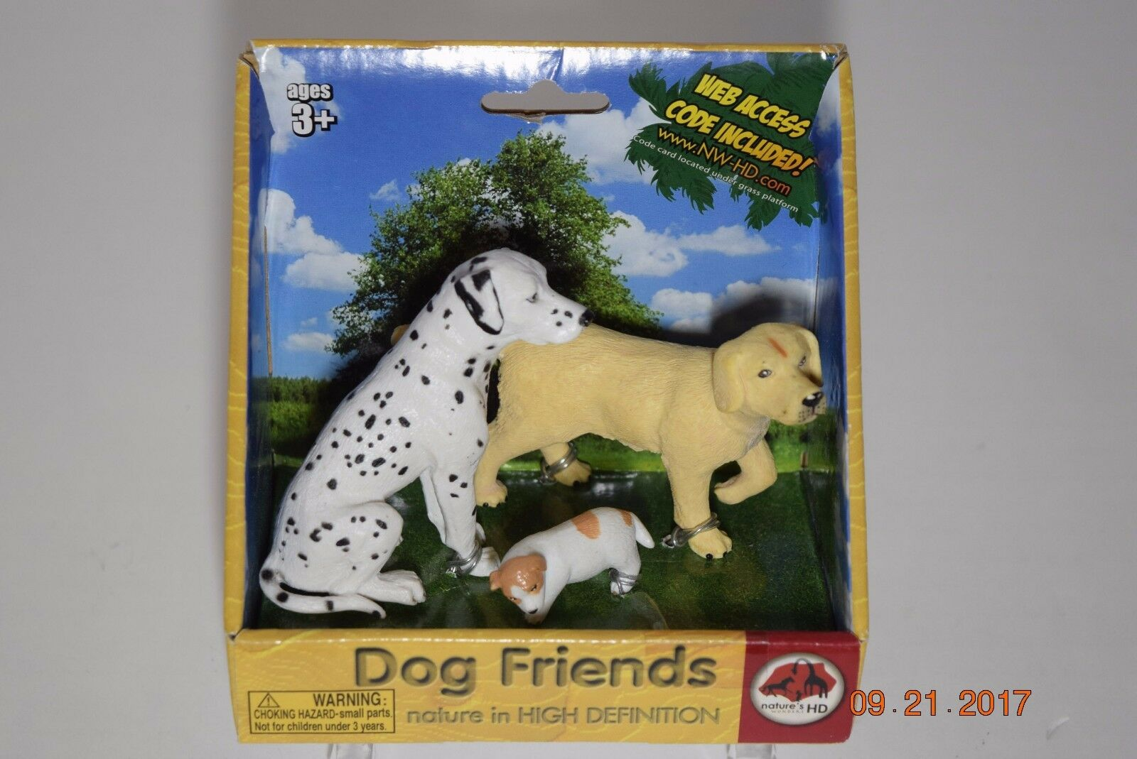Natures Wonder HD Lot 4 Cats Dogs Dogs Dogs 2 Farm Animals  Brand NEW 0498ca